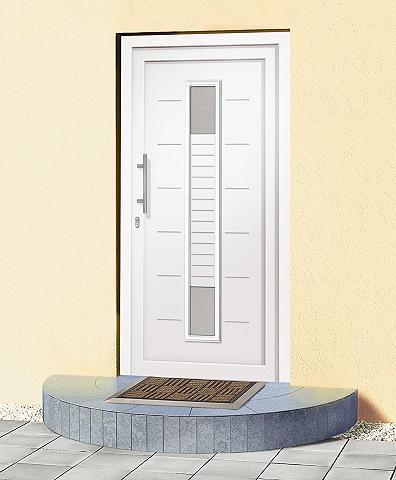 Plastikinės lauko durys »A906« Bx H: 1...