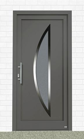Plastikinės lauko durys »Kanada« Bx H:...