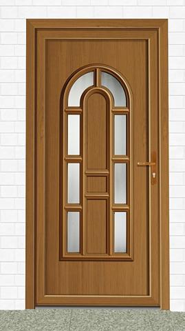 Plastikinės lauko durys »England« dury...