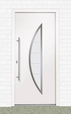 Plastikinės lauko durys »A909« Bx H: 1...