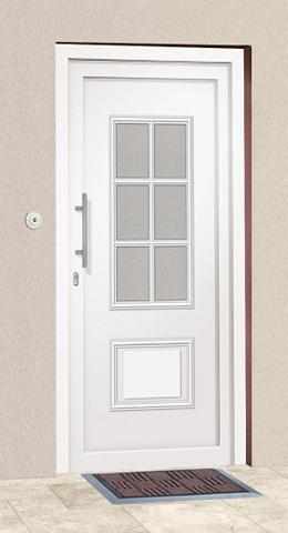Plastikinės lauko durys »Estland« Bx H...