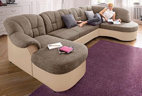 DOMO COLLECTION Sofa patogi su miegojimo funkcija