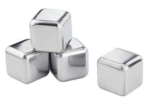 CONTENTO Ledo kubeliai Nerūdijančio plieno (4 v...