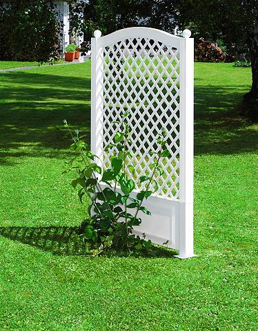 KHW Ažūrinė sienelė gėlėms »100x140 cm wei...
