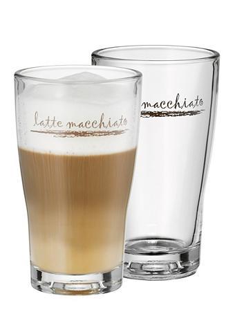 WMF Rinkinys: Latte Macchiato Iš stiklo (2...