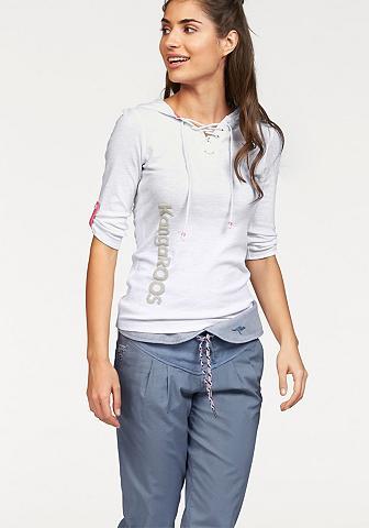 Kanga ROOS Marškinėliai su gobtuvu