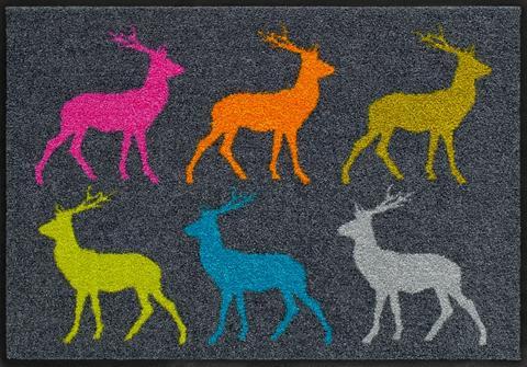 SALONLOEWE Durų kilimėlis »Crossing Deer« rechtec...
