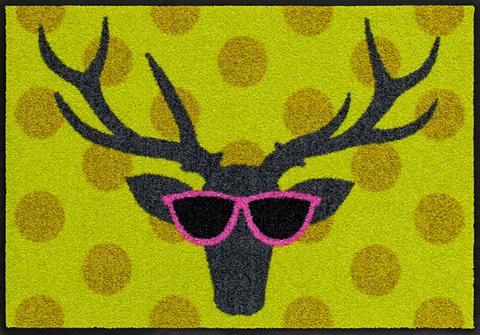 SALONLOEWE Durų kilimėlis »Funky Deer« rechteckig...