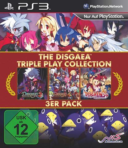 NIS Playstation 3 - Spiel »Disgaea Triple ...