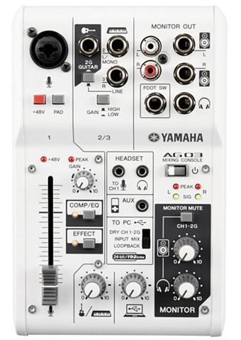 Yamaha Mischpult »AG03« su 3 Kanälen