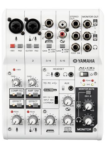 Yamaha Mischpult »AG06« su 6 Kanälen