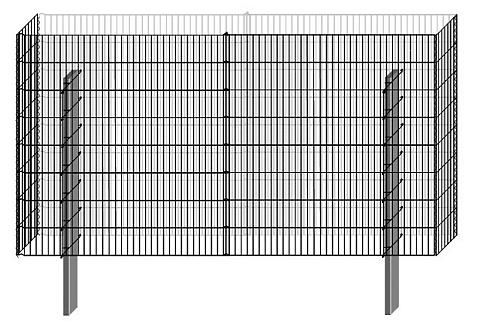 Tvora »Gabionen-Mauersystem Limes Basi...