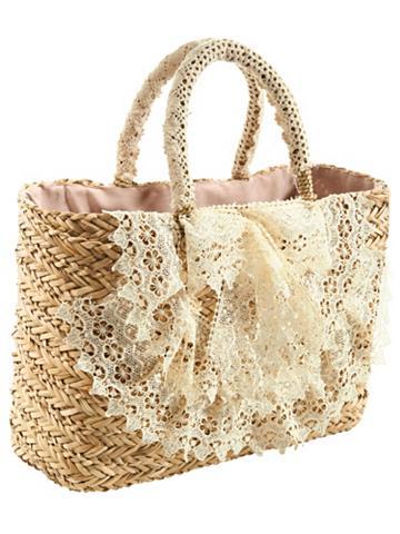 Krepšys su nėriniai