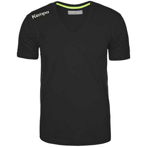 Core Baumwoll V-Kragen Marškinėliai Ki...
