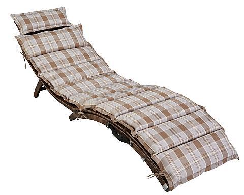 Sodo gultas »Capri« Polyrattan ir užva...