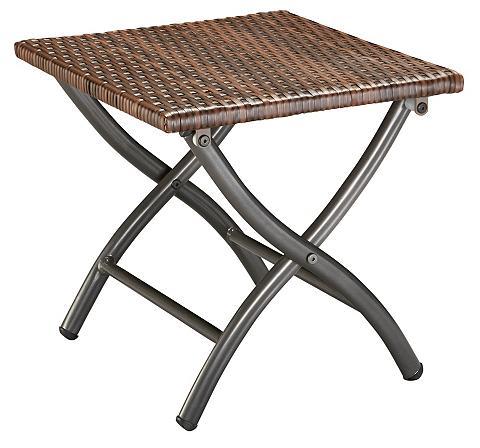 MERXX Kojų kėdutė »Capri« Polyratten braun