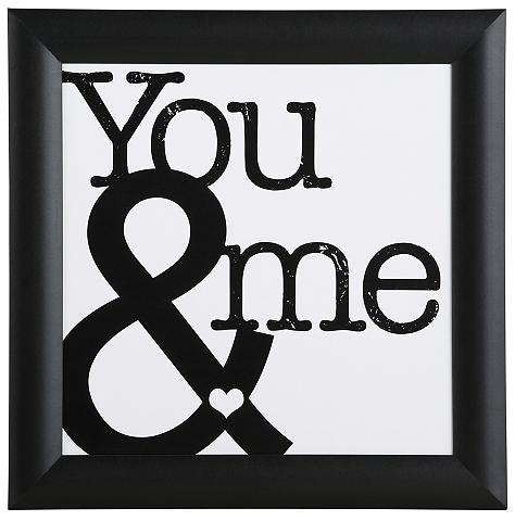 HOME AFFAIRE Meninis paveikslas »You & me« Dekoraci...