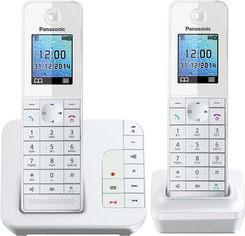 PANASONIC »KX-TGH222 DUO« Bevielis DECT-Telefon ...