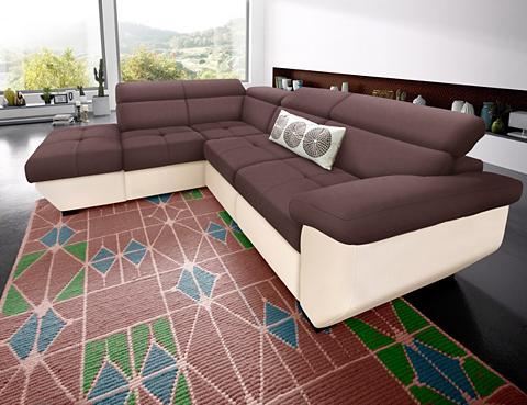 COTTA Kampinė sofa patogi su miegojimo funkc...