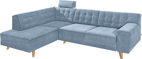 Kampinė sofa su Kojų kėdutė »NORDIC CH...