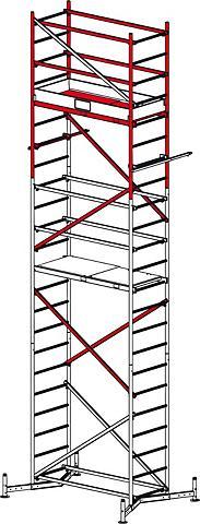 Pastolinės kopėčios »Clim Tec 2. Aufst...