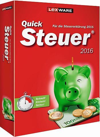 Finanzen/Steuer »Quicksteuer 2016«