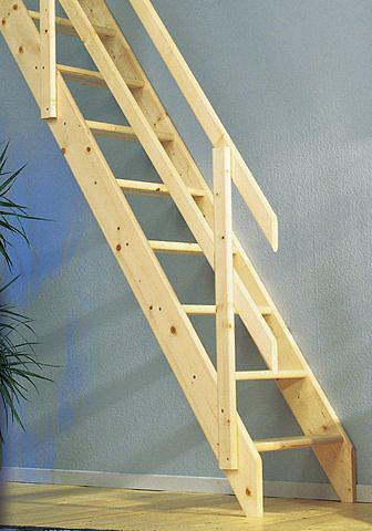DOLLE Kompaktiški laiptai »Schwerin« Fichte ...