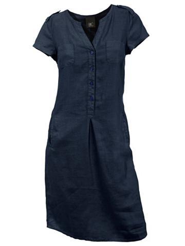 B.C. BEST CONNECTIONS by Heine Lininė suknelė su Marškinėliai apvalia...