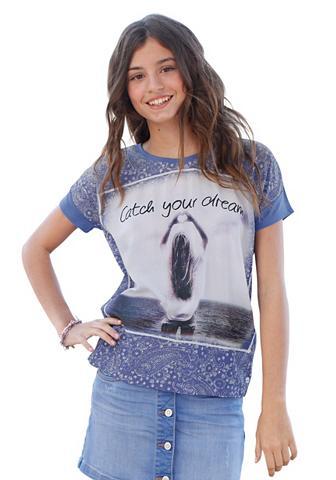 Marškinėliai su Fotodruck dėl Mädchen