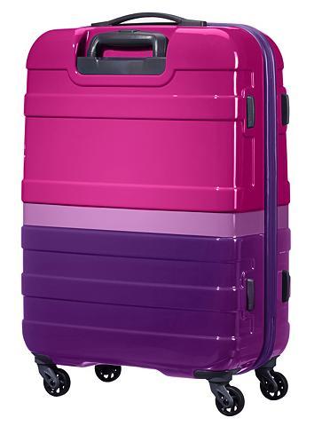 Plastikinis lagaminas su 4 ratukais