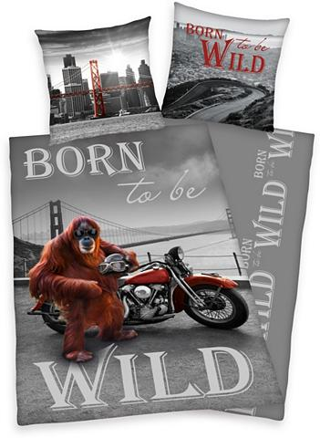 YOUNG COLLECTION Patalynė »Born to be wild« su Affe