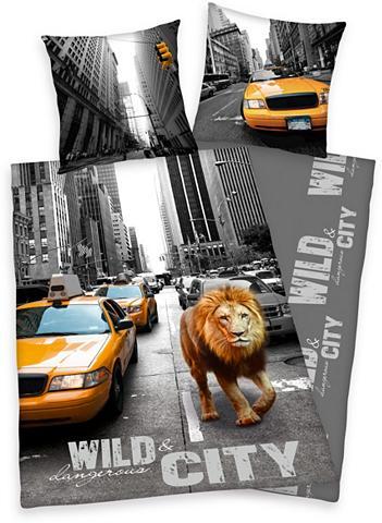 YOUNG COLLECTION Patalynė »New York Lion« su Motiv