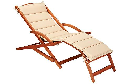 MERXX Sodo gultas »Copa Cabana« Eukalyptus b...
