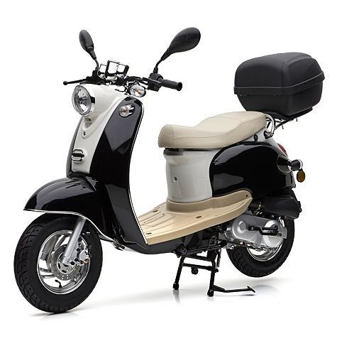 Motorroller ir Topcase 49 ccm 45 km/h ...