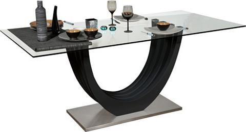 Stiklinis valgomojo stalas »Ovio« plot...