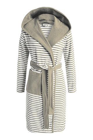 Chalatas Esprit »Striped Hoodie« su St...