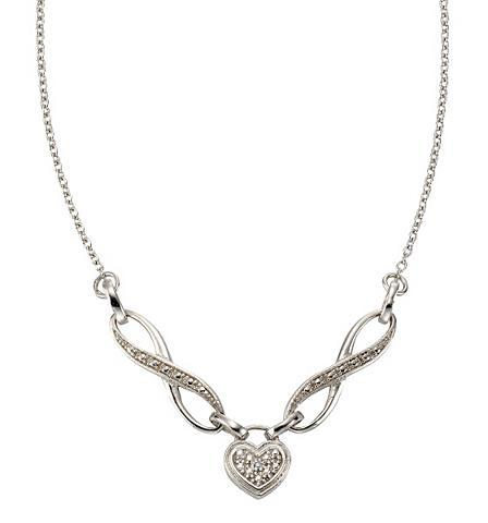 Vėrinys su deimantas »Herz«