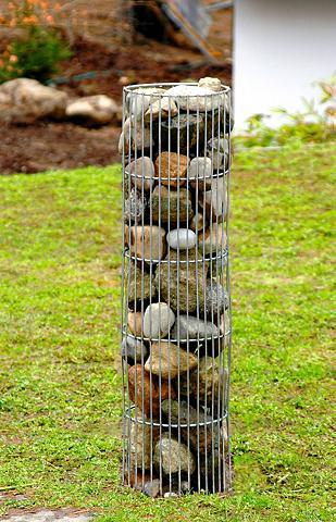 BELLISSA Srovinti dekoratyvus kolona iš akmenų ...