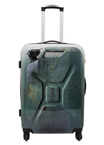 ? lagaminas su 4 ratukais