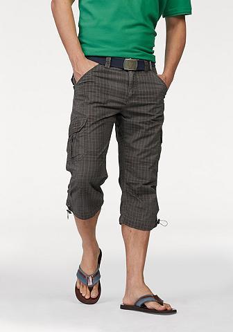 MAN'S WORLD Šortai-bermudai su kišenėmis