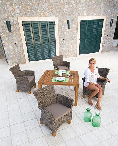 Sodo baldų komplektas »Toskana« 9-tlg....