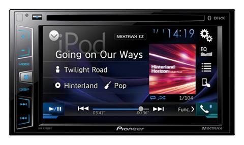 PIONEER 2-DIN Bluetooth mašininis moni...