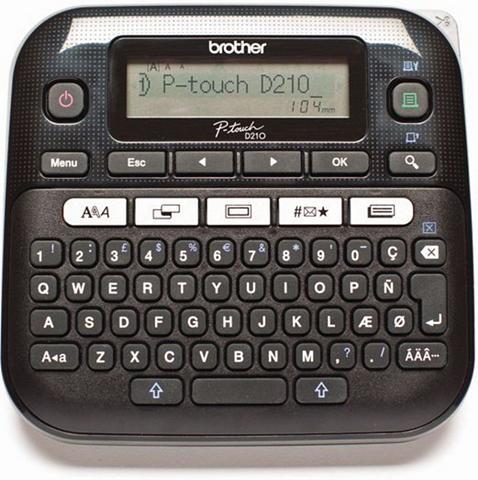BROTHER Ženklinimo prietaisas »P-touch D210 De...