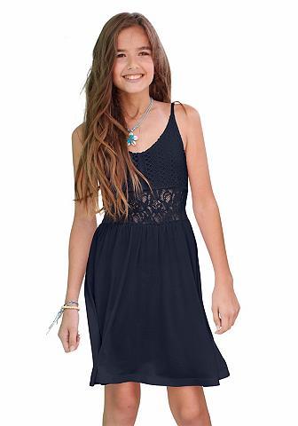 Suknelė plonomis petnešėlėmis