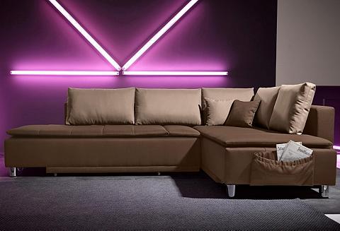 INOSIGN Kampinė sofa su Dauer-Schlaffunktion