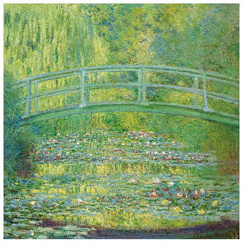 Fototapetas »Monet - Seerosenteich« 25...