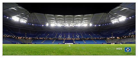 Paveikslas »HSV Arena Nacht - Panorama...