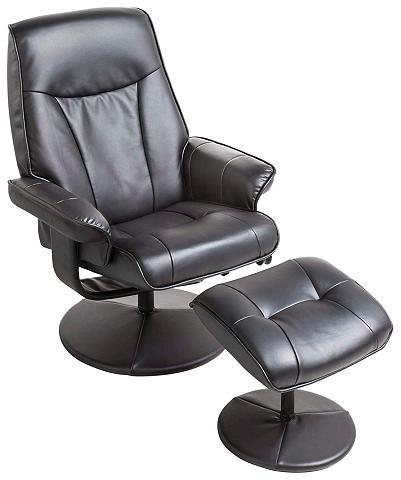 Masažinis fotelis su Kojų kėdutė