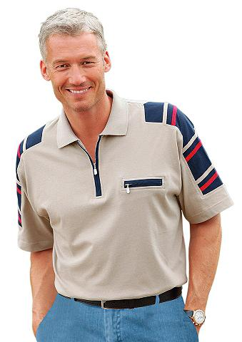 CATAMARAN Polo marškinėliai su Kontrastbändern i...