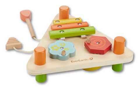 EVEREARTH ® Medinis žaislas »2-seitiges Musikdre...